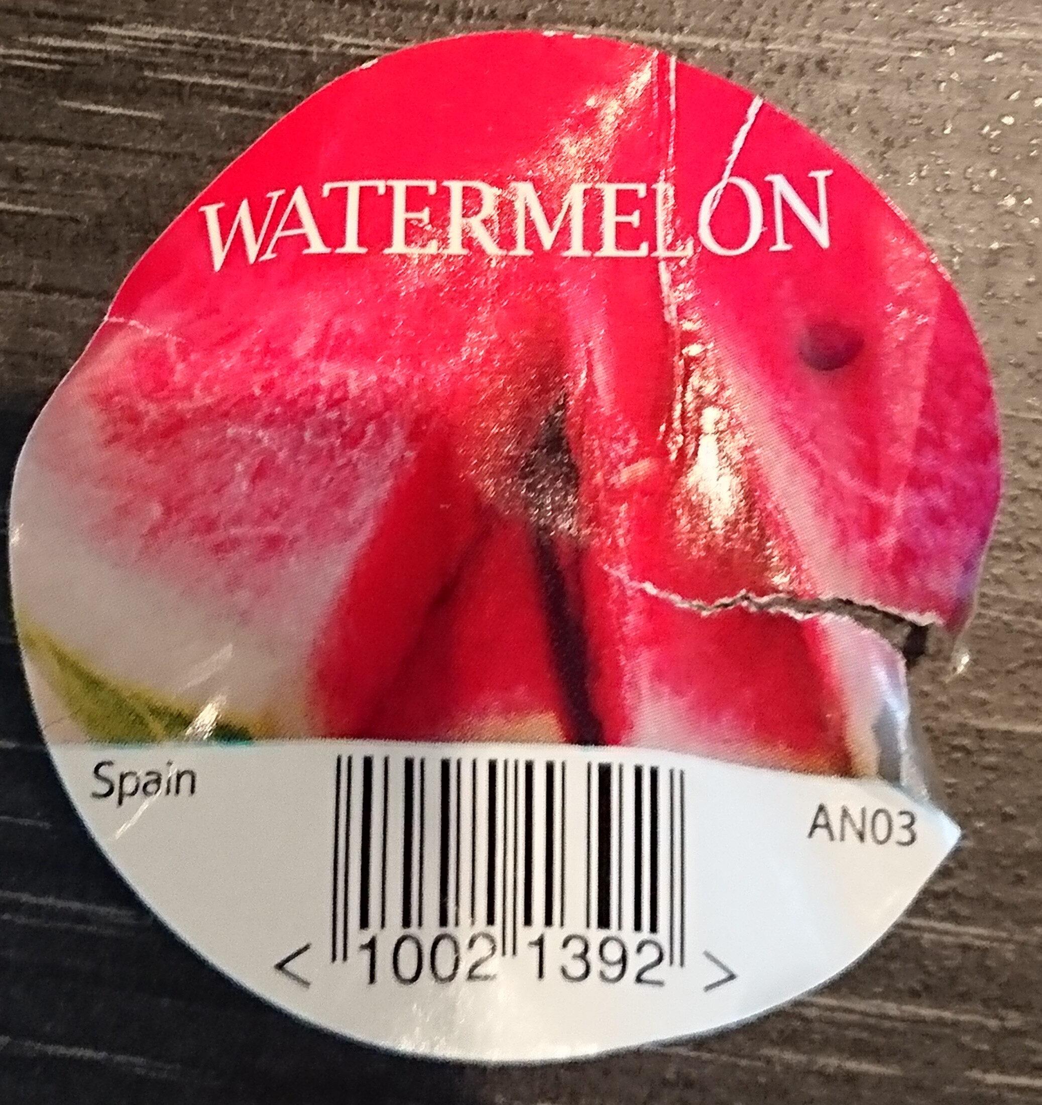 Watermelon - Ingredients
