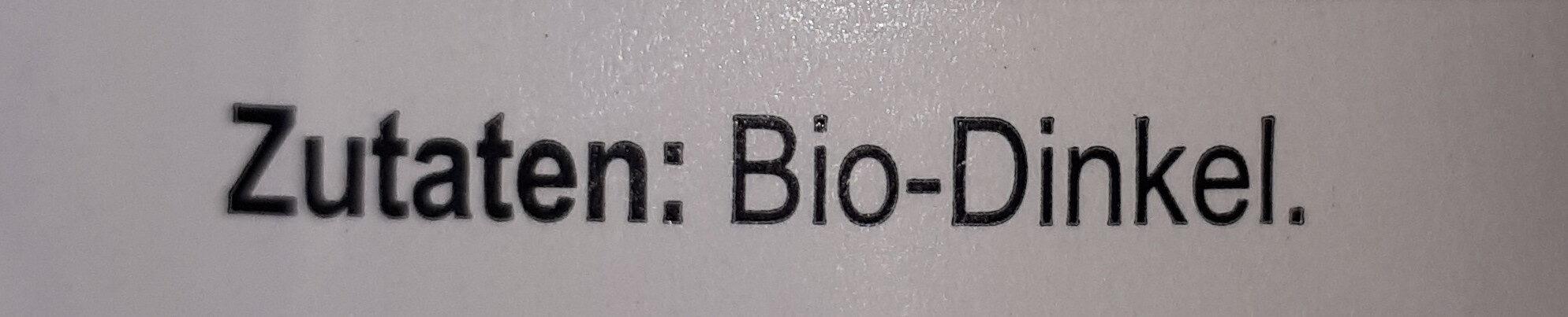 Bio-Dinkel Flocken - Ingredients - de