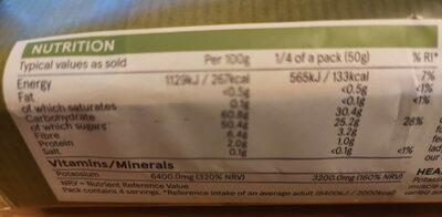 Nedjool Dates - Nutrition facts