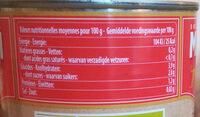 Purée de Tomates - Nutrition facts - en