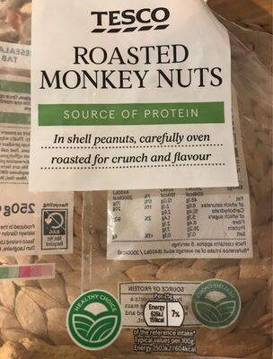 Roasted Monkey Nuts Tesco