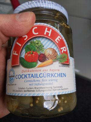 Cocktailgürkchen - Ingrédients