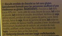 Choco Sticks - Ingredientes - fr