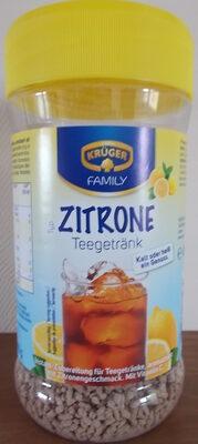 Krüger Zitrone Teegetränk - Product - fr