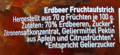 Glück aus Erdbeeren - Ingredients - de