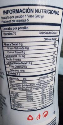 yogur descremado light fresa - Produit - es