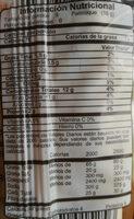 Palitroques - Informations nutritionnelles - es