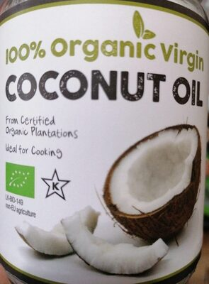Coconut Oil 100% Pure Virgin - Product - fr