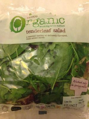 Organic tenderleaf salad - Product