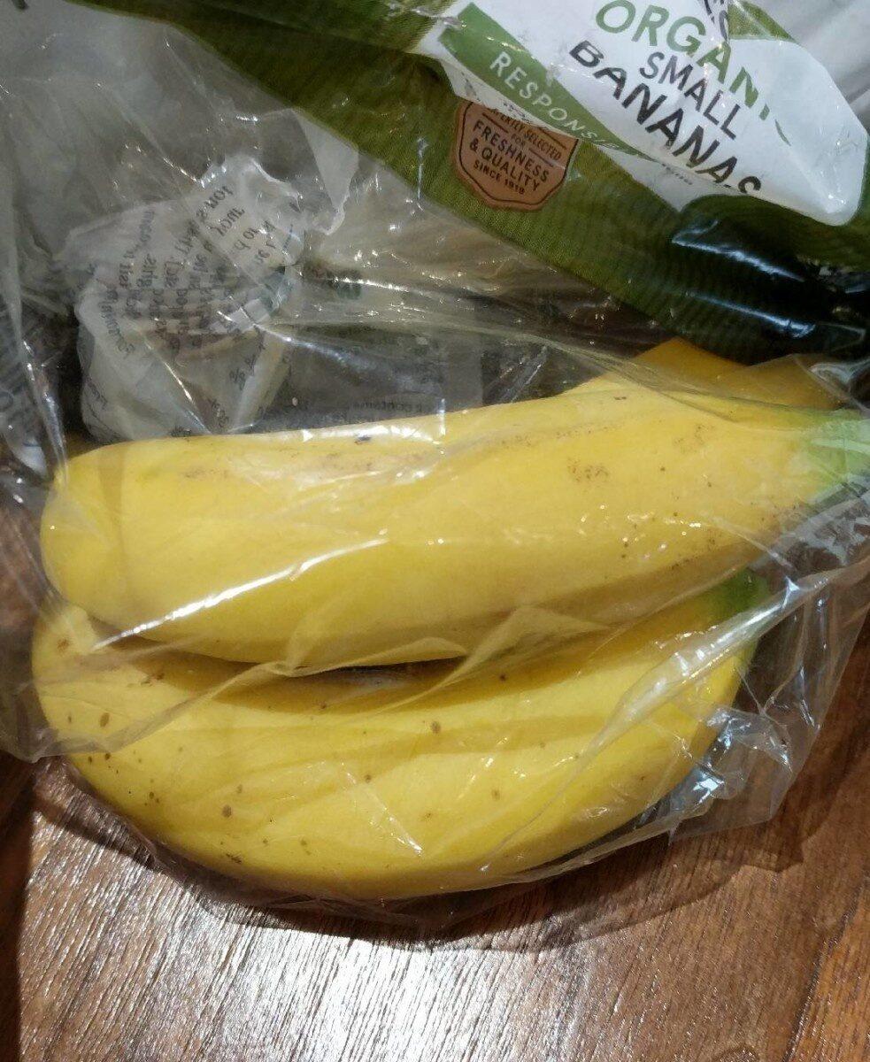 Organic small bananas - Product - en