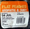 Flat Peaches Aromatic & Juicy - Product