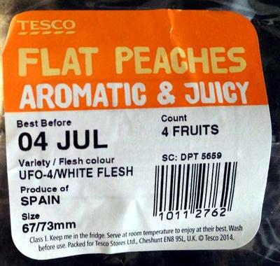 Flat Peaches Aromatic & Juicy - Product - en