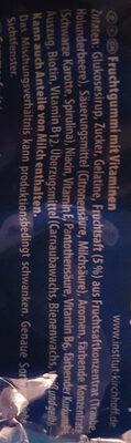 Lachgummi Heroes - Ingredients