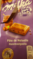 milka patte noisette - Product - fr