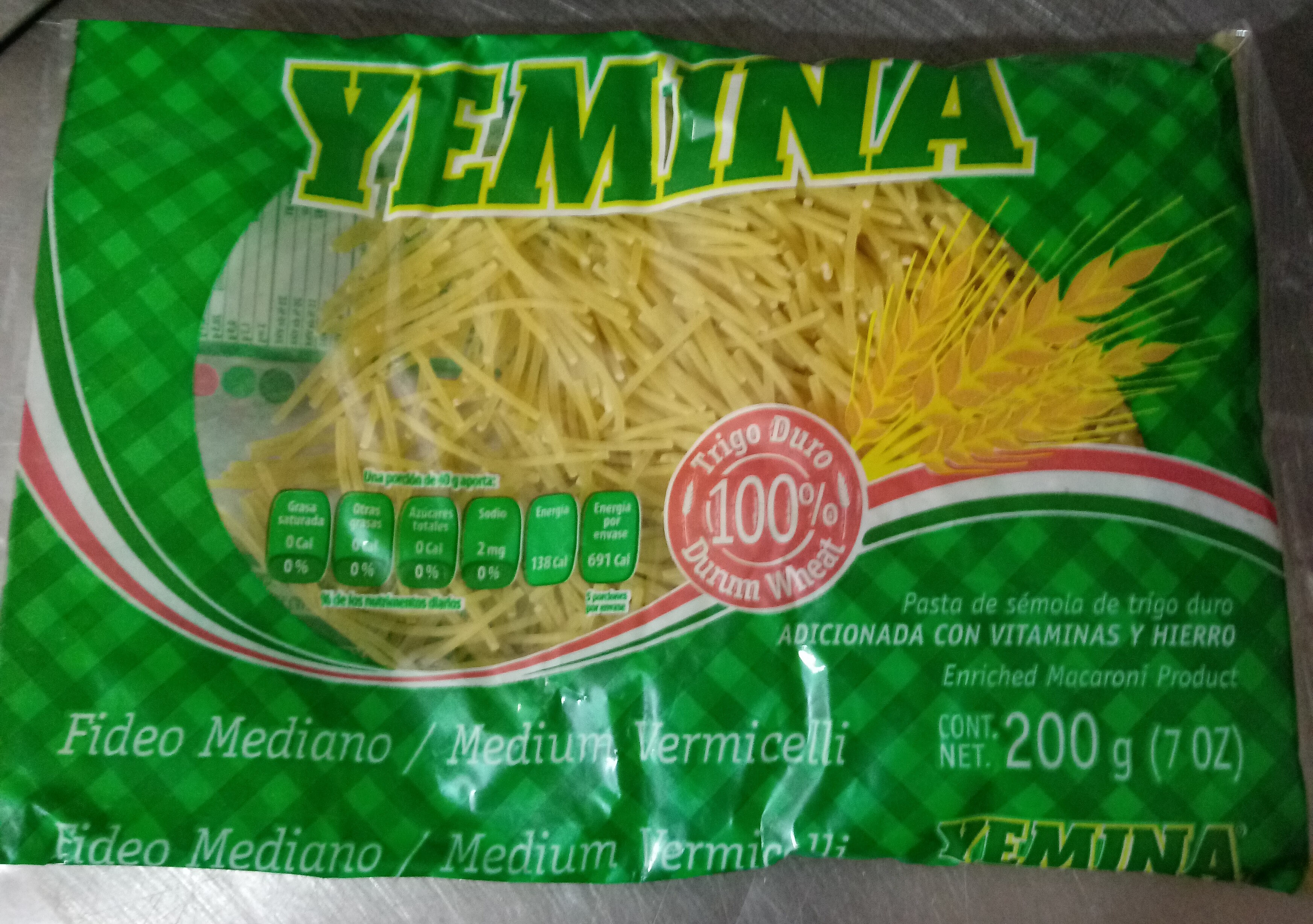 fideo mediano - Product