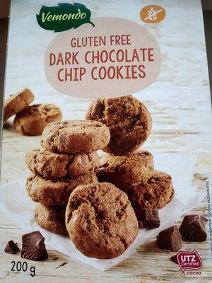Gluten free dark chocolate chip cookies - Product - en
