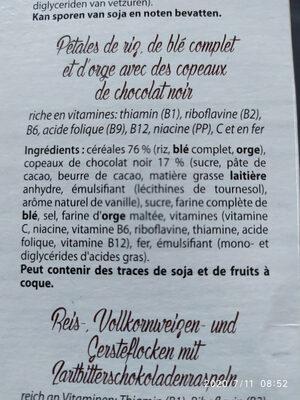 wellness flakes - Ingrediënten - fr