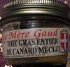 Foie gras entier de canard mi-cuit - Product