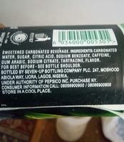 Indo Mie - Ingredients - en