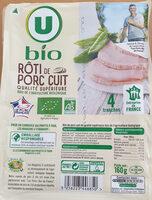 Rôti de porc cuit - Produit - fr