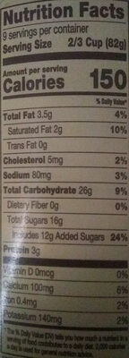 Slow Churned Cookies'n CreamDreyer's Ice Cream - Nutrition facts