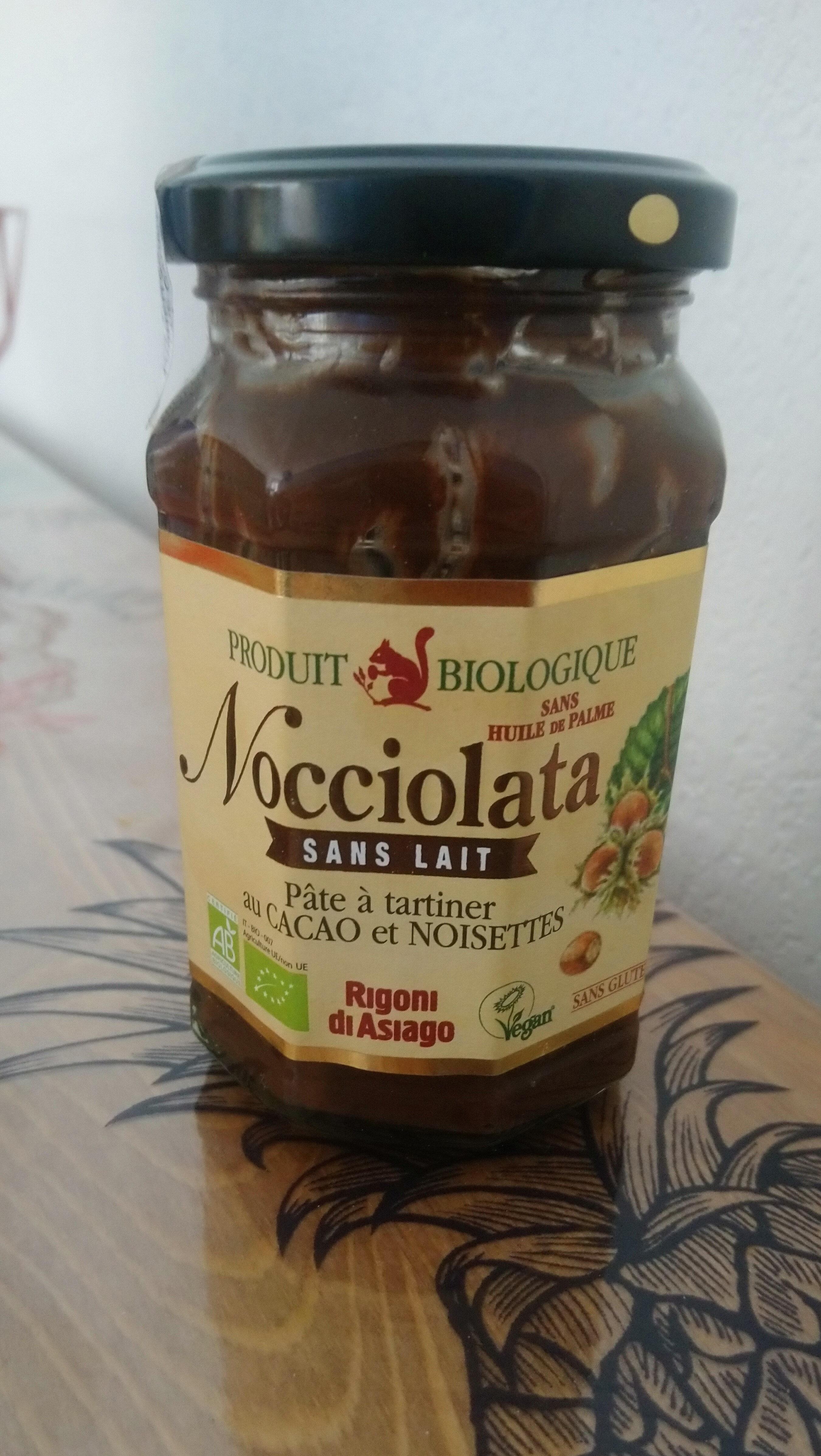 nocciolata sans lait - Product
