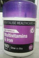 Multivitamins & iron - Product - en
