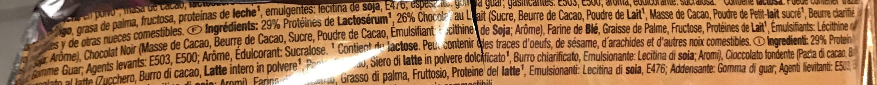 32% whey-wafer - Ingrédients - fr