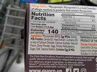 Quorn meatless roast - Ingredients - en