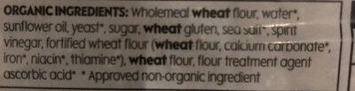 Waitrose duchy organic - Ingrédients