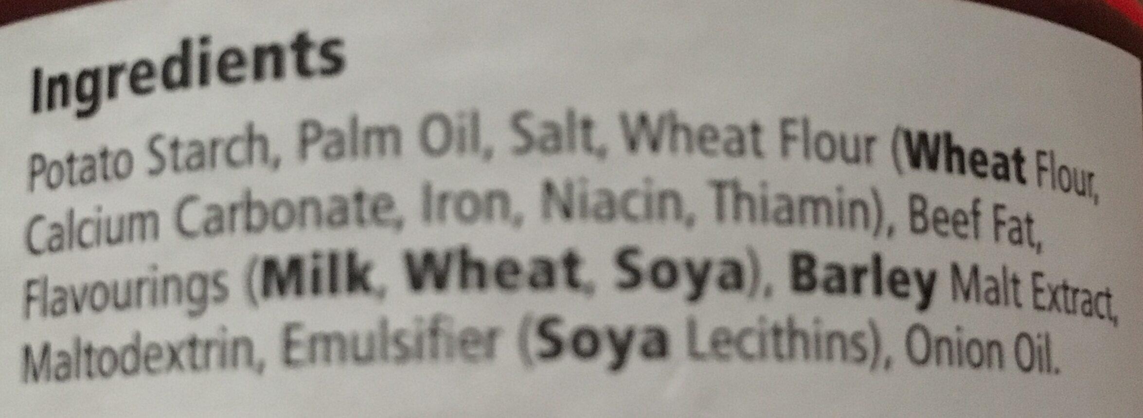 Gravy - Ingrediënten
