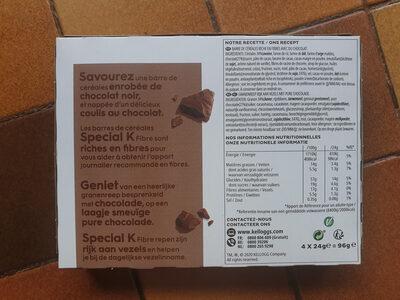 Special K Fibre Delice au Chocolat - Ingredients