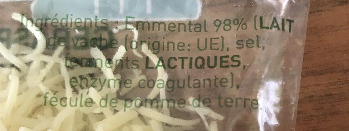 Velouté fruit rouge - Ingredienti - fr
