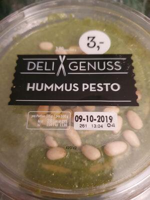 Hummus Pesto - Produit