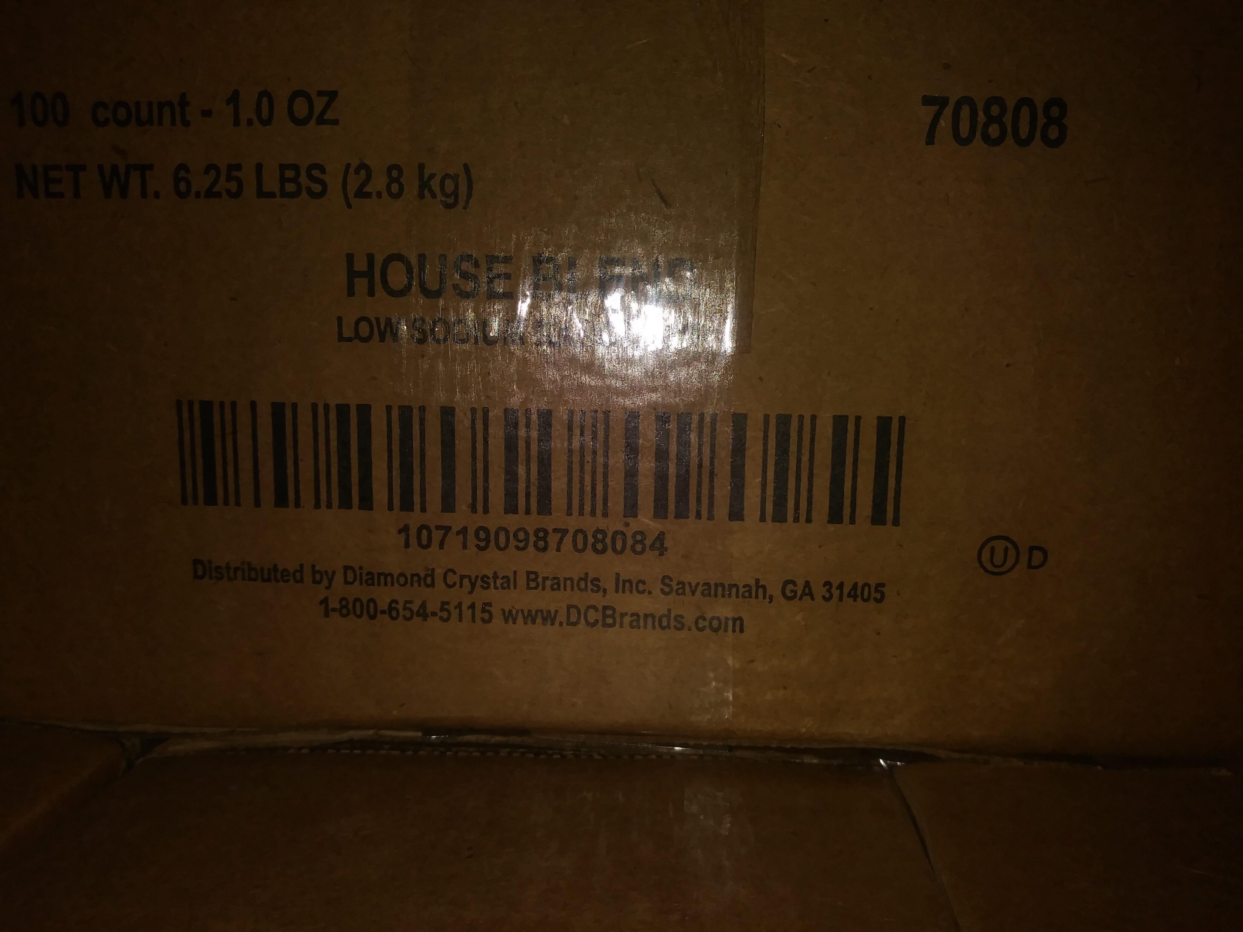 HOUSE BLEND Low Sodium Ranch - Product - en