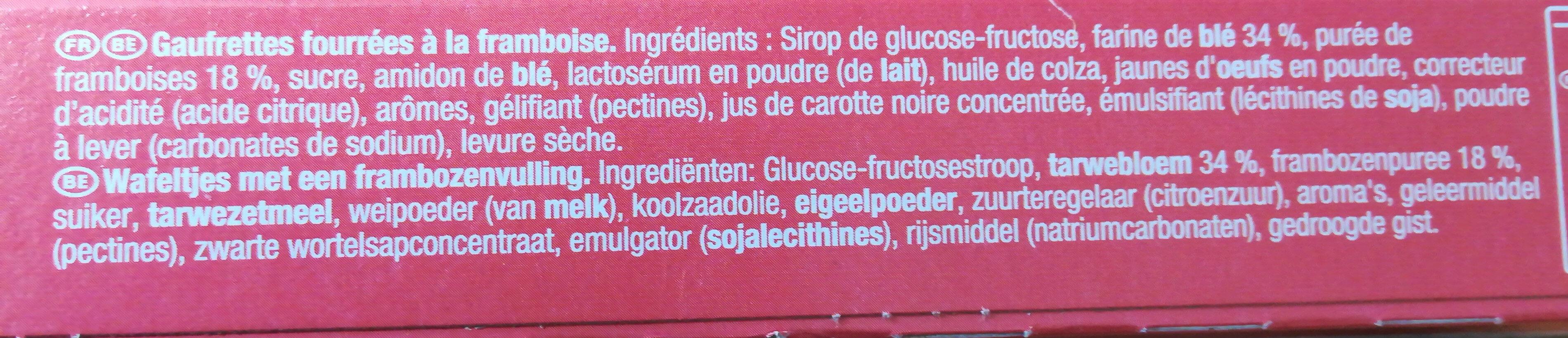 la paille d'or - Ingredients