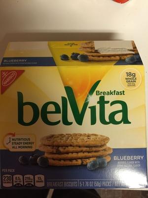 Belvita Breakfast - Blueberry - Product
