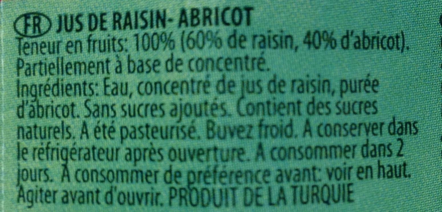 Dimes apricot - Ingrédients - fr