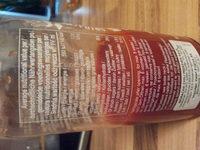 sriracha hot chili ginger sauce - Ernæringsinnhold