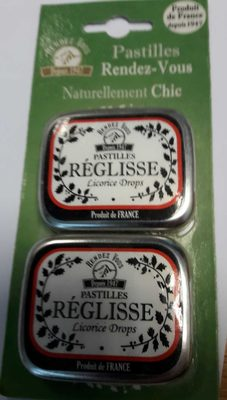 Pastilles Réglisse - Product - fr