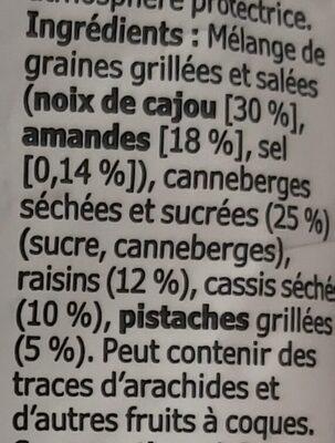 Mélange De Graines Grillees - Ingredientes - fr