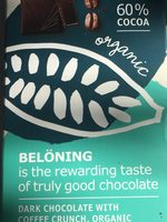 Dark chocolate with coffee crunch - Product