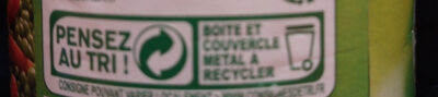Petits Pois Carottes à l'étuvée - Recycling instructions and/or packaging information - fr