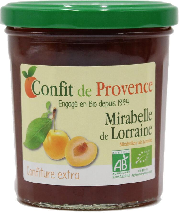 Mirabelle de Lorraine - Nutrition facts - fr