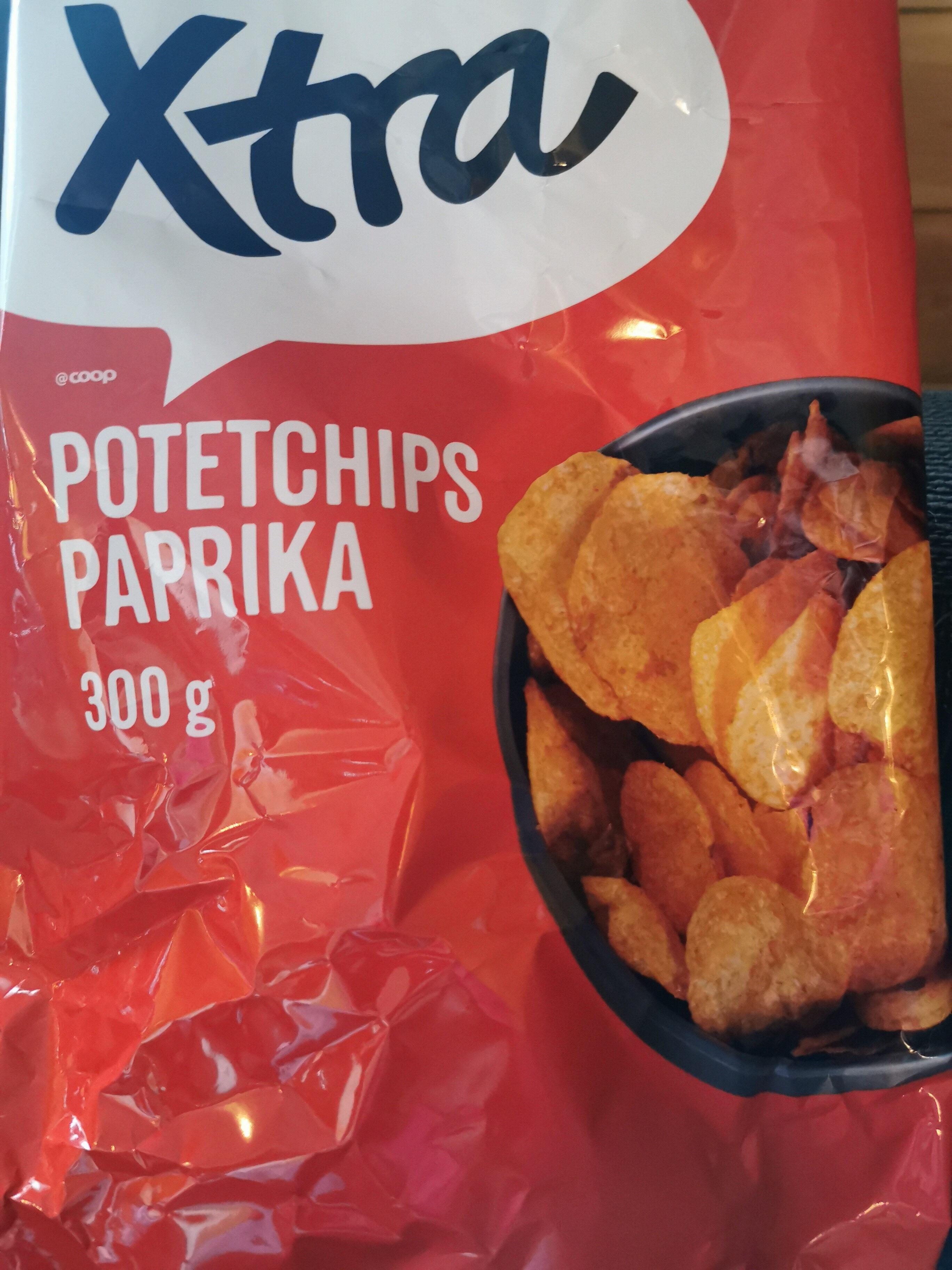 potetchips paprika - Produit - nb