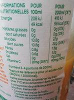 jus d'orange - Ingredients - fr