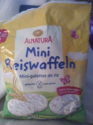 Mini Reiswaffeln - Produkt - de