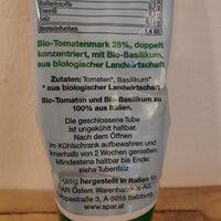 Bio-Tomaten-mark mit Basilikum - Ingrédients