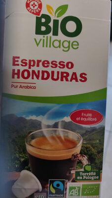 Café Espresso Honduras pur Arabica - Product - fr