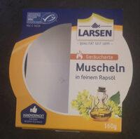 Geräucherte Muscheln in Rapsöl - Product - de